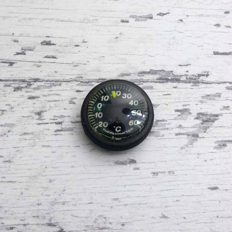 YCM 18mm ベルト用 リスト サーモ 温度計 ステルス ブラック IPX8 日本製