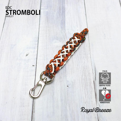 Royal Breeze   EDC Stromboli   Harley   Paracrod GITD Keyholder