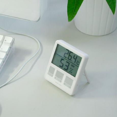 温湿度計 <小さめマグネット付きタイプ>