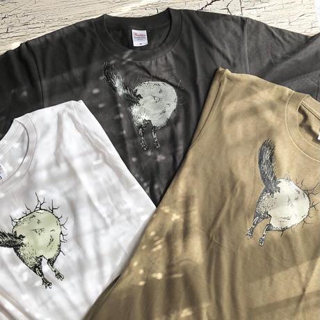 【数量限定/サイズ在庫限り】《Chinchilla souri*》チンチラ のオケツが光るTシャツ
