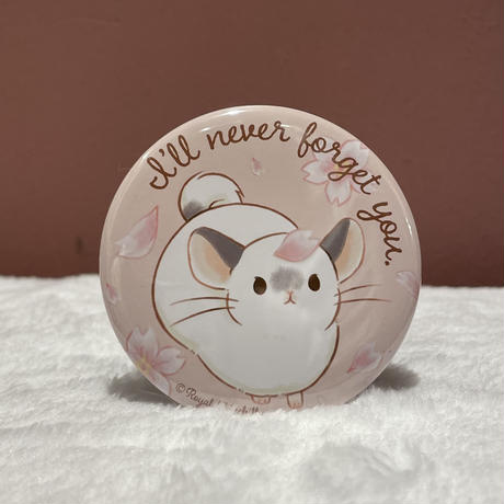 《I'll never forget you》スタンド缶バッジ(57mm)