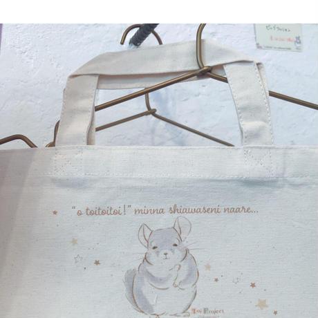 【Toi Project】《おトイさん》 てやんでいミニトートバッグ