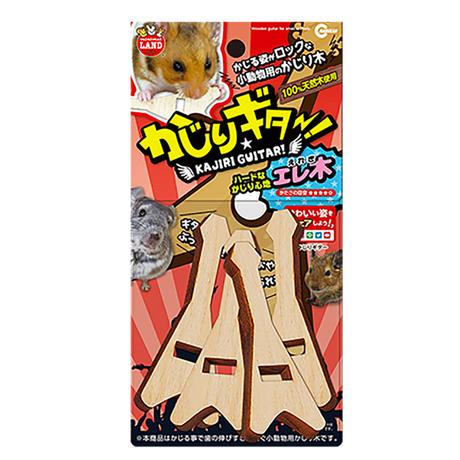 マルカン かじりギター(エレ木/三角形)4本入り