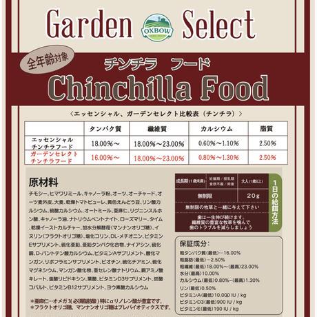 【新商品】OXBOW ガーデンセレクト(チンチラフード)