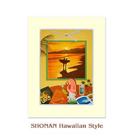ヒロクメアート 2Lマットスタンド お気に入りのものに囲まれた贅沢な時間『湘南ハワイアンスタイル』。HK008E