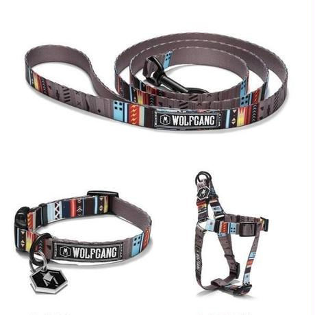 WOLFGANG MAN&BEAST NativeLines LEASH( S size ) WL-001-52