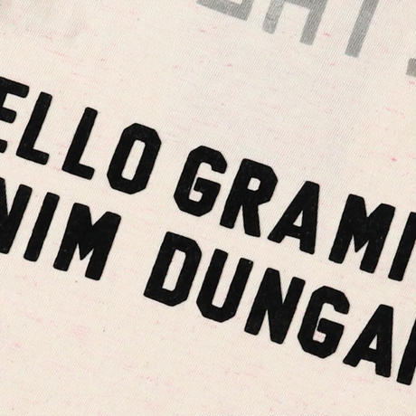 DENIM DUNGAREE|トンプキン天竺 GRAMICCI GO Tシャツ サイズ01,02