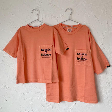 【GROOVY COLORS】 テンジク ガーメントダイ POCKET BIG TEE (SIZE 100-140)