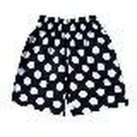 【Cookman】Chef Short Pants 「Big dots」 Black 商品コード : 231-91999