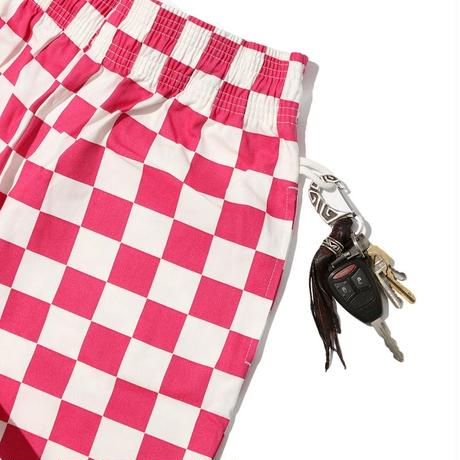 Chef Short Pants「Checker」 Pink