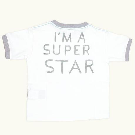 DENIM DUNGAREE × SNOOPY  テンジク SNOOPY SUPER STAR TEE   サイズ100