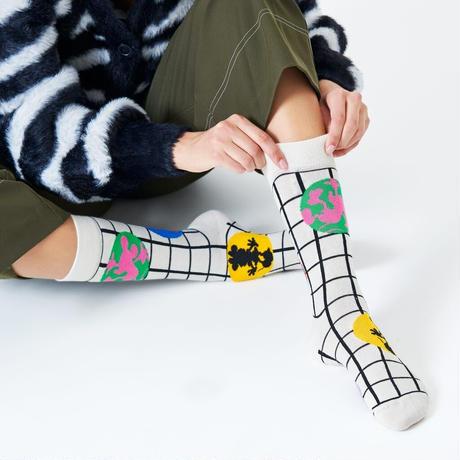 Happy Socks  Disney Behind The Seams Sock  23-25.5