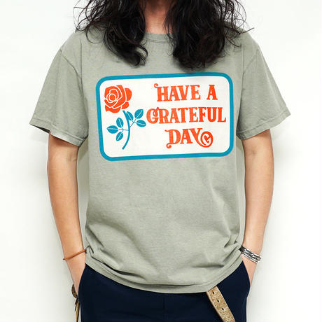 【GOWEST】 GRATEFUL DAY T-SHIRT/ GRATEFUL DAY COLLECTION GWC1000HGD