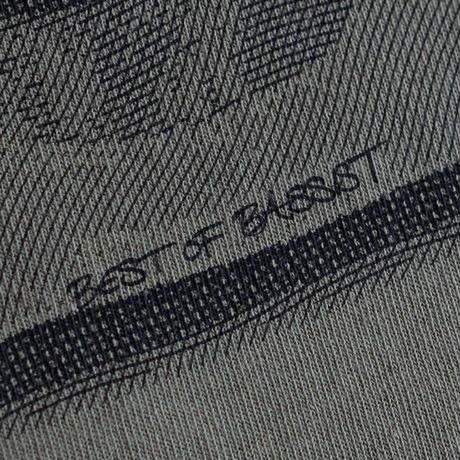 """OK213-008【""""ベーシスト""""ポートレイト S/S TEE】OLIVE"""