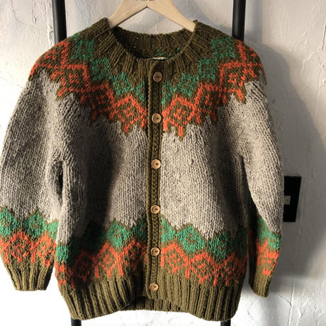 【GOWEST】ESCAPE HAND KNIT CARDIGAN
