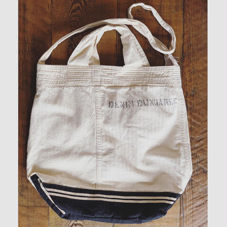 【DENIM DUNGAREE】DONALD セーラー リメイク BAG