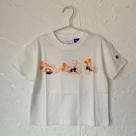 【Champion】ミッキー プリント 半袖 Tシャツ