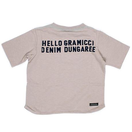 DENIM DUNGAREE|天竺グラミチニホンゴTシャツ 01,02