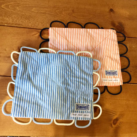 【DENIM DUNGAREE】BEST PLAY BABY HANDKERCHIEF TOY