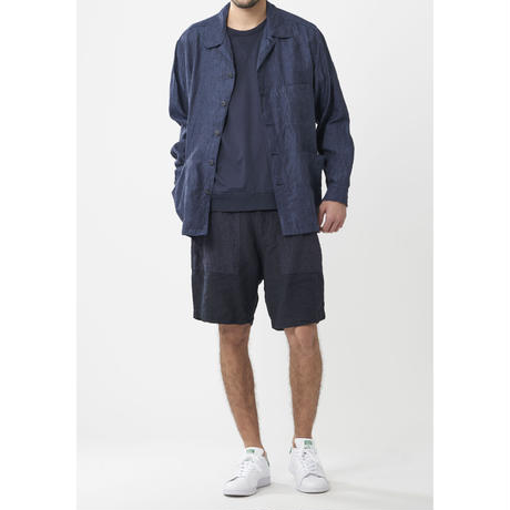 sage de cret /フレンチリネンシャンブレーシャツジャケット