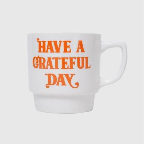 HAVE A GRATEFUL DAY  MUG CUP -PAIR ROSE
