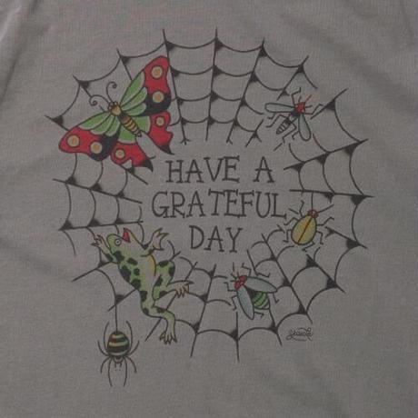 YH×GRATEFUL DAY T-SHIRT -SPIDER