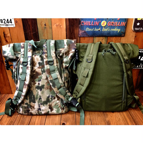 【MIS】ROLL UP BACKPACK