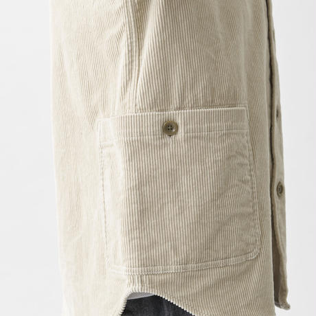 sage de cret /ストレッチコーデュロイシャツジャケット