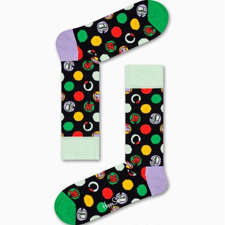 happy socks   Disney Focus, Mickey Sock  23-25.5