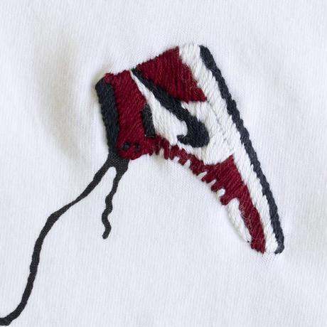 【OK211-001】 AJ1 feat. Banksy S/S TEE