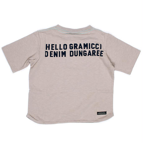 DENIM DUNGAREE 天竺グラミチニホンゴTシャツ 03
