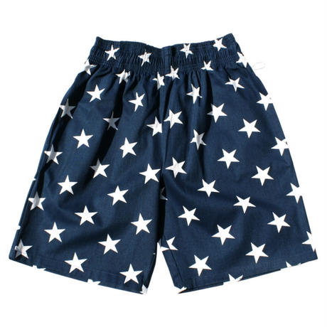 【Cookman】Chef Shorts「STAR」(NAVY)