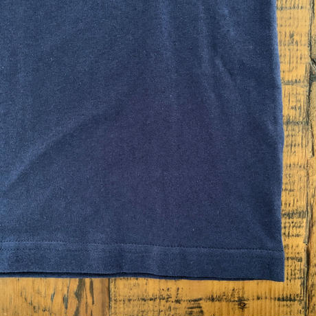 【Champion】POCKET TEE (NAVY SIZE 150-160)