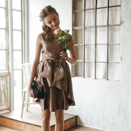 Dorry Doll オーバースカート付2WAYフレアーワンピース