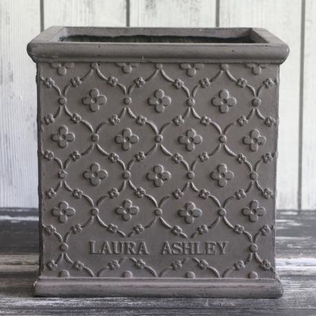 Laura Ashley/ローラアシュレイ  ペンブロークキューブ  グレー Mサイズ