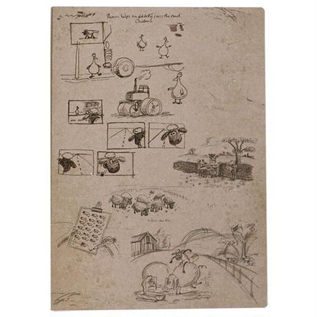 「ひつじのショーン」原画展 ペーパーファイル