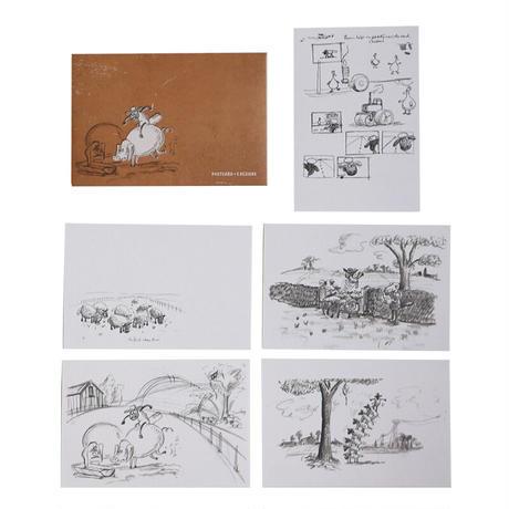 「ひつじのショーン」原画展 ポストカードセット