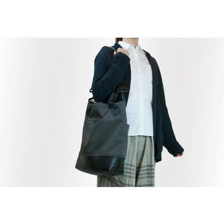 202 Tim Tote + Shoulder Bag チャコールグレー