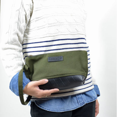 Dave : Pouch カーキ