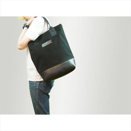Mini Meena : Tote bag ブラック