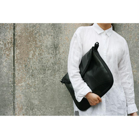 Clutch+Shoulder Bag w/ nylon100