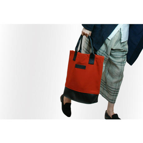 Mini Meena : Tote bag レッド