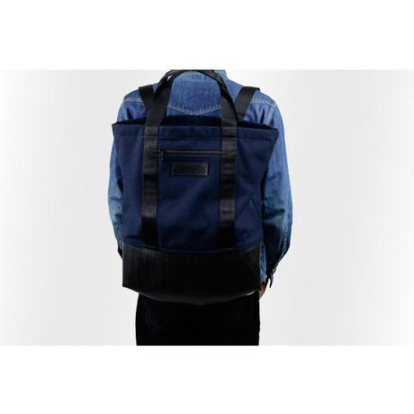 Manee : Backpack+Tote ネイビー