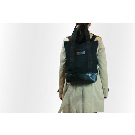 Mini Manee : Backpack+Tote ブラック