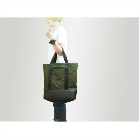 Manee : Backpack+Tote カーキ