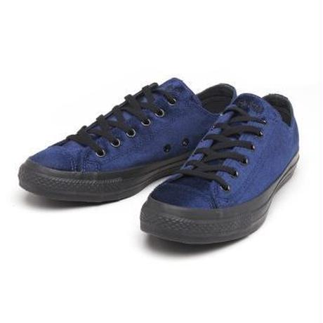 "【残り僅か】CONVERSE ""ALL STAR VELVET BS OX"" (Navy/Ladies)"