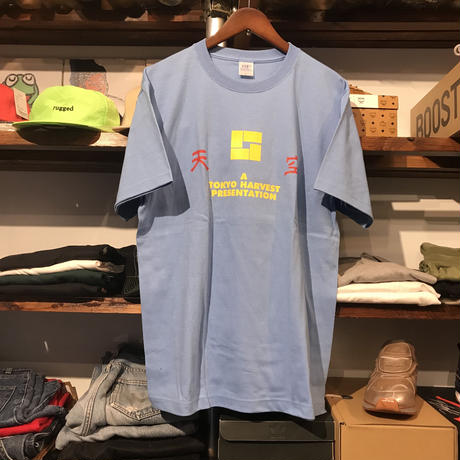 "【残り僅か】RUGGED ""天空""tee (Light Blue)"