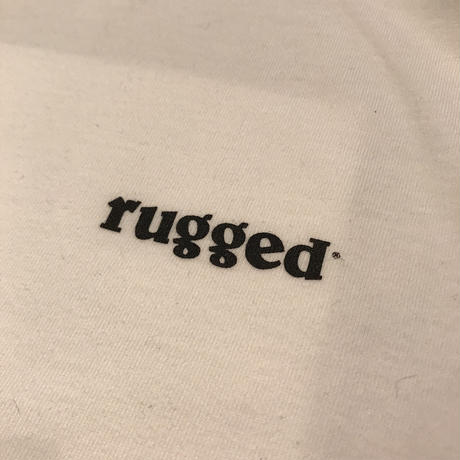 "RUGGED ""Scouter"" s/s tee (White)"