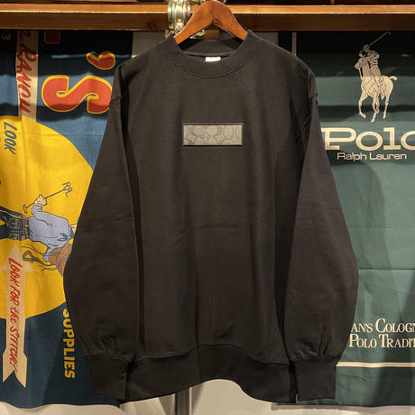 "【残り僅か】AnotA ""COAX"" reverse weave  sweat  (Black/12.0oz)"