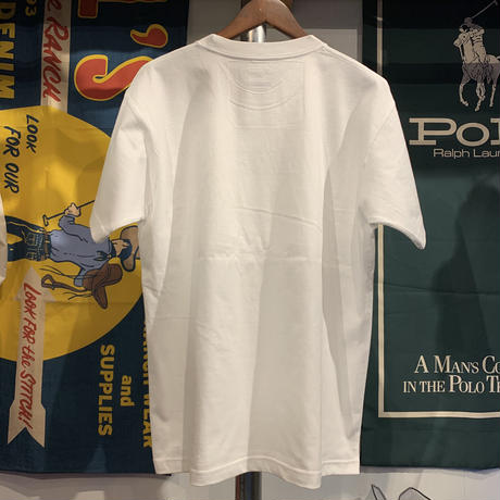 "【WEB限定/残り僅か】RUGGED ""SMALL ARCH"" tee (White)"